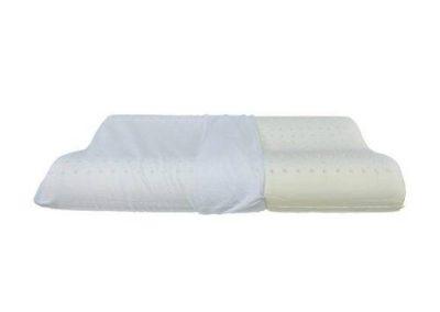 Cuscino ortocervicale in memory foam forato