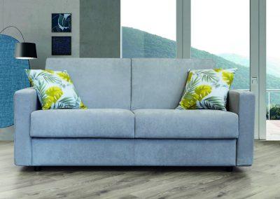 QUADRO-Divano letto elegante con linee moderne